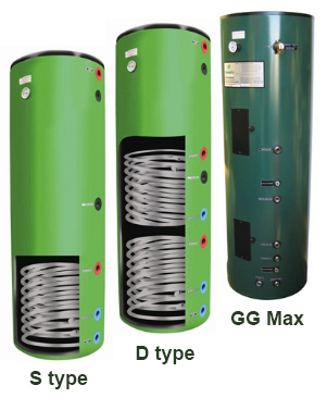Hot Water Cylinder Greenglo
